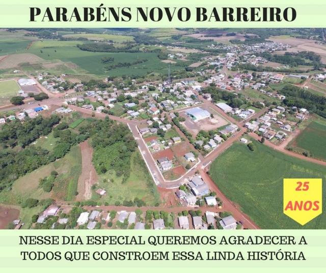 Novo Barreiro Rio Grande do Sul fonte: www.novobarreiro.rs.gov.br